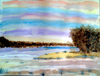 Cartoon: Aquarell (small) by Twiggi tagged aquarell,landschaft
