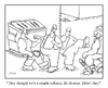 Cartoon: chumps (small) by creative jones tagged chump,streetwise,dumpster,creative,jones