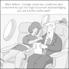 Cartoon: mile high romantic (small) by creative jones tagged mile,high,club,legal,permission,romantic