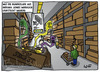 Cartoon: Bundeslade im Ikea (small) by Belzebub tagged ark,of,the,covenant,indiana,jones,ikea,bundeslade