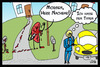 Cartoon: Mein Nachbar die Niere (small) by Belzebub tagged neighbour,nachbar,nebenniere,niere,adrenal,gland,kidney