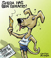 Cartoon: New mascot of Commonwealth Games (small) by Satish Acharya tagged commonwealth,games,india