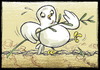Cartoon: Peace in the balance (small) by Giacomo tagged peace,dove,barbed,wire,war,giacomo,cardelli,lombrio,jack