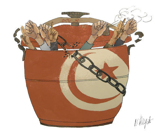 modele plan maison contemporain en tunisie
