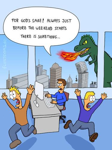 WEEKEND By fcartoons  Business Cartoon  TOONPOOL