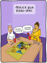 Cartoon: NEULICH BEIM RISIKO (small) by fcartoons tagged risiko,gott,buddha,spiel,würfel,asien