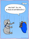 Cartoon: PARACHUTES (small) by fcartoons tagged parachute,mouse,elephant,airplane,plane,cartoon,goggles,fall,mix,up,rat,flugzeug,fliegen,elefant,maus,ratte,springen,sprung,fallschirm