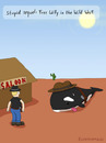 Cartoon: stupid sequel (small) by fcartoons tagged stupid,sequel,free,willy,wild,west,gun,sun