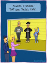 Cartoon: Tobey (small) by fcartoons tagged tobey police line up mafia nazi identify