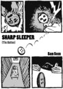 Cartoon: SHARP SLEEPER (small) by sam seen tagged sharp,sleeper,sam,seen