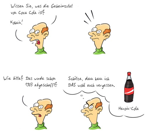 Cartoon: Kommentar_21 (medium) by Rob tagged commentary,kommentar,typ,guy,coca,cola,coke,cocaine,kokain,bottle,flasche