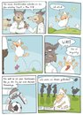 Cartoon: Sheeple (small) by Rob tagged schaf,schafe,sheep,sheeps,wolf,wölfe,wolves,herde,weide,train,zug,ball,fussball,soccer
