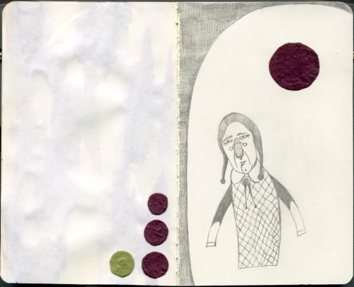 Cartoon: - (medium) by fake_glue tagged moleskine,pencil,collage