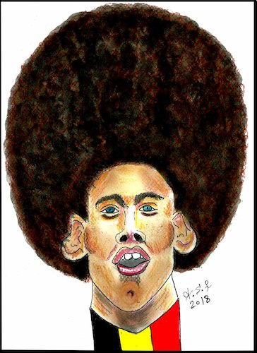 Cartoon: world cup 2018 (medium) by AHMEDSAMIRFARID tagged salah,ahmedsamirfarid,ahmed,samir,farid,mo,cartoon,caricature,egypt,worldcup,egyptair,begium,witsel