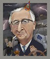 Cartoon: Jean-Claude Juncker. (small) by Maria Hamrin tagged caricature,jose,manuel,barroso,federica,mogherini,donald,tusk,cognac,cigarette,greece