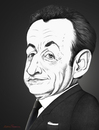 Cartoon: Nicolas Sarkozy. (small) by Maria Hamrin tagged caricature,hungary,ump,president,france,paris,prince,andorra,chirac,hollande