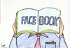 Cartoon: FACE BOOK (small) by tsumankumar tagged facebook