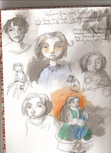 Cartoon: sketch book (medium) by orchard tagged canada,ink,watercolour