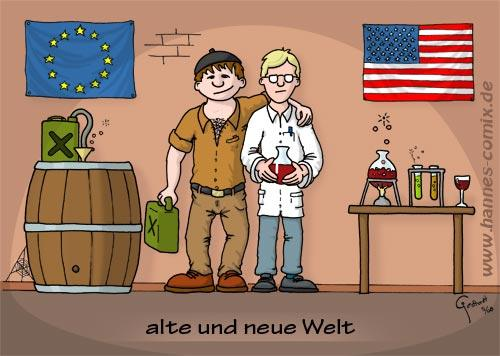 alte und neue welt by hannes media culture cartoon toonpool. Black Bedroom Furniture Sets. Home Design Ideas