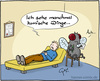 Cartoon: Halluzinationen (small) by Hannes tagged halluzination,psychiater,doktor,couch