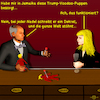 Cartoon: Bargespräche 8 (small) by PuzzleVisions tagged puzzlevisions,trump,decret,dekret,voodoo,zauber,miracle,bargespräch,bar,talks
