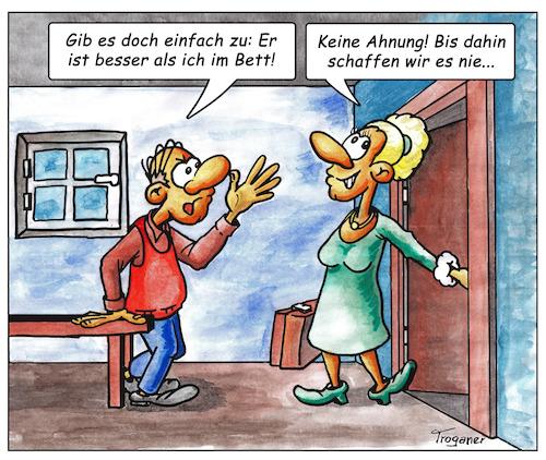 Besser Im Bett By Troganer Love Cartoon Toonpool