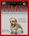 Cartoon: erDOGan of the Year (small) by Babak Massoumi tagged erdogan,turkey,kurds,islam