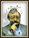 Cartoon: Javad Larijani (small) by Babak Massoumi tagged larijani,babak,massoumi,islamism,iran,fanatic,human,rights