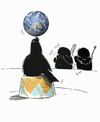 Cartoon: about earth (small) by o-sekoer tagged climate