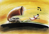 Cartoon: his masters voice (small) by o-sekoer tagged xx