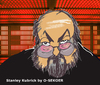 Cartoon: Stanley Kubrick (small) by o-sekoer tagged 2001,space,odyssey