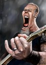 Cartoon: oh no! not another hetfield (small) by sylvia tagged hetfield,caricature,metallica