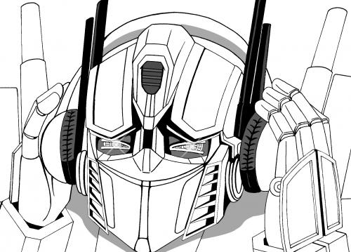 Optimus Prime Cartoon Drawing Cartoon Optimus Prime Enjoy