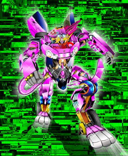Pinkpanther Transformer By Dj Savior Education Tech Cartoon