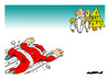 Cartoon: Christmas Is Coming... (small) by Amorim tagged christmas,santa,claus