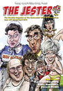 Cartoon: Jester Cover (small) by Ian Baker tagged jester,cartoonists,club,of,great,britain,ian,baker,caricatures,carry,on,saucy,comedy,film,barbara,windsor,robin,askwith,little,david,walliams,lucas,amanda,barrie,cleopatra,camping,nurse,bikini,nude,naked,frankie,howerd
