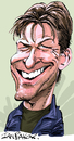 Cartoon: Sean Bean (small) by Ian Baker tagged sean,bean,actor,caricature,goldeneye,james,bond,007,sheffield,star