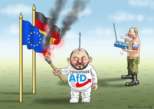 AFD-GIFTZWERGROBOTER FROHNMAIER