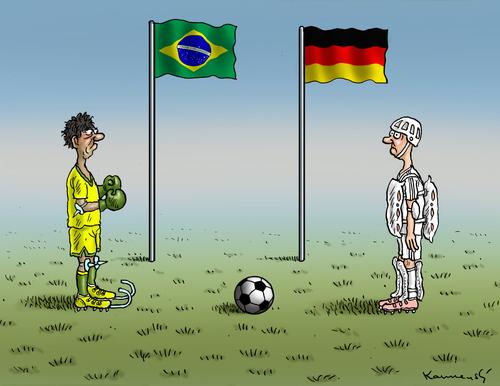 fussball brasilien deutschland