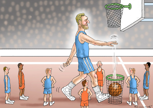 Cartoon: DIRK NOWITZKI IS GOING (medium) by marian kamensky tagged kkk,monarchie,babis,strache,kurz,orban,kopftuchverbot,populismus,kazsynski,ungarn,pressefreiheit,juncker,soros,kaczinski,theresa,may,brexit,dirk,nowitzki,kkk,monarchie,babis,strache,kurz,orban,kopftuchverbot,populismus,kazsynski,ungarn,pressefreiheit,juncker,soros,kaczinski,theresa,may,brexit,dirk,nowitzki