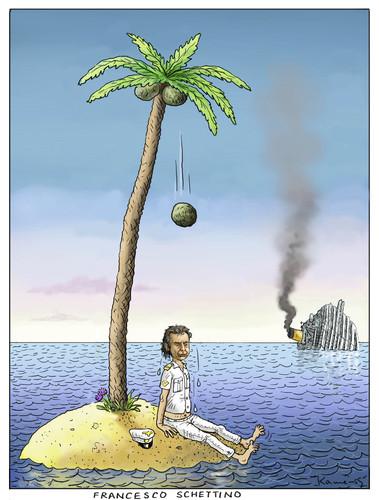 Cartoon: Francesco Schettino (medium) by marian kamensky tagged costa,concordia,schiffsbruch,italien,costa concordia,schiffsbruch,italien,kreuzfahrt,costa,concordia