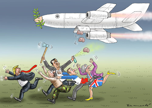 Cartoon: GEFÄHRLICHSTE WAFFE (medium) by marian kamensky tagged assad,putin,ost,ghouta,syrien,assad,putin,ost,ghouta,syrien