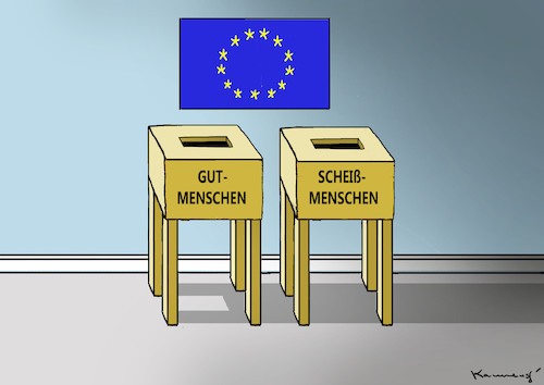 Cartoon: GEHT WÄHLEN ! (medium) by marian kamensky tagged brexit,theresa,may,england,eu,schottland,weicher,wahlen,boris,johnson,nigel,farage,ostern,seidenstrasse,xi,jinping,referendum,trump,monsanto,bayer,glyphosa,strafzölle,brexit,theresa,may,england,eu,schottland,weicher,wahlen,boris,johnson,nigel,farage,ostern,seidenstrasse,xi,jinping,referendum,trump,monsanto,bayer,glyphosa,strafzölle