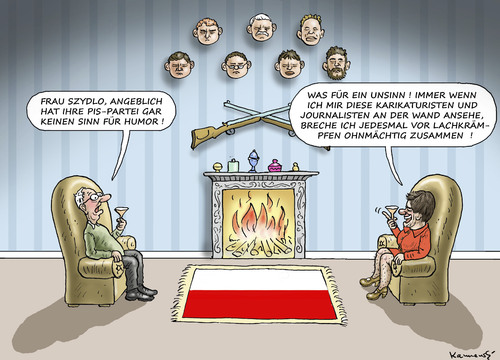 humor in polen by marian kamensky politics cartoon. Black Bedroom Furniture Sets. Home Design Ideas