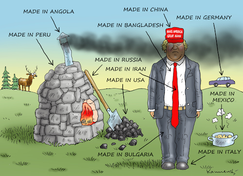 Cartoon: MAKE COAL GREAT AGAIN (medium) by marian kamensky tagged obama,trump,präsidentenwahlen,usa,baba,vanga,republikaner,inauguration,demokraten,wikileaks,faschismus,obama,trump,präsidentenwahlen,usa,baba,vanga,republikaner,inauguration,demokraten,wikileaks,faschismus