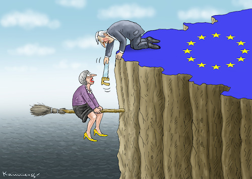 Cartoon: MAY BESUCHT JUNCKER (medium) by marian kamensky tagged theresa,may,putin,sergei,skripal,novichok,russia,kgb,poison,attack,england,agents,brexit,iss,raumfahrt,alexander,gerst,corbyn,farage,theresa,may,putin,sergei,skripal,novichok,russia,kgb,poison,attack,england,agents,brexit,iss,raumfahrt,alexander,gerst,corbyn,farage