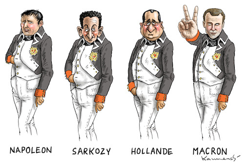 Cartoon: NAPOLEON MACRON (medium) by marian kamensky tagged putinversteher,assange,emmanuel,macron,le,pen,präsidentenwahl,in,frankreich,putinversteher,assange,emmanuel,macron,le,pen,präsidentenwahl,in,frankreich