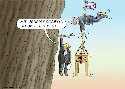 Cartoon: NEUWAHLEN IN GROßBRITANIEN (medium) by marian kamensky tagged brexit,theresa,may,england,eu,schottland,weicher,wahlen,boris,johnson,nigel,farage,ostern,seidenstrasse,xi,jinping,referendum,trump,monsanto,bayer,glyphosa,strafzölle,brexit,theresa,may,england,eu,schottland,weicher,wahlen,boris,johnson,nigel,farage,ostern,seidenstrasse,xi,jinping,referendum,trump,monsanto,bayer,glyphosa,strafzölle