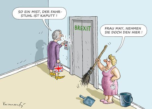 Theresa May By Marian Kamensky Politics Cartoon Toonpool