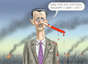 Cartoon: Assad in Chan Schaichun (small) by marian kamensky tagged assad,in,chan,schaichun,sarin,giftgasanschlag